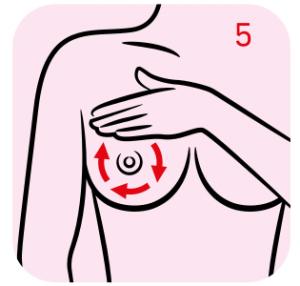 Instrukcja samobadania piersi