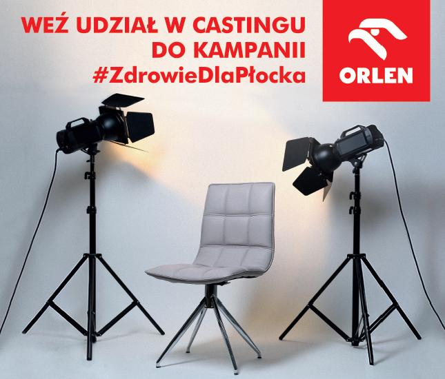 CASTING do kampanii #ZdrowieDlaPłocka