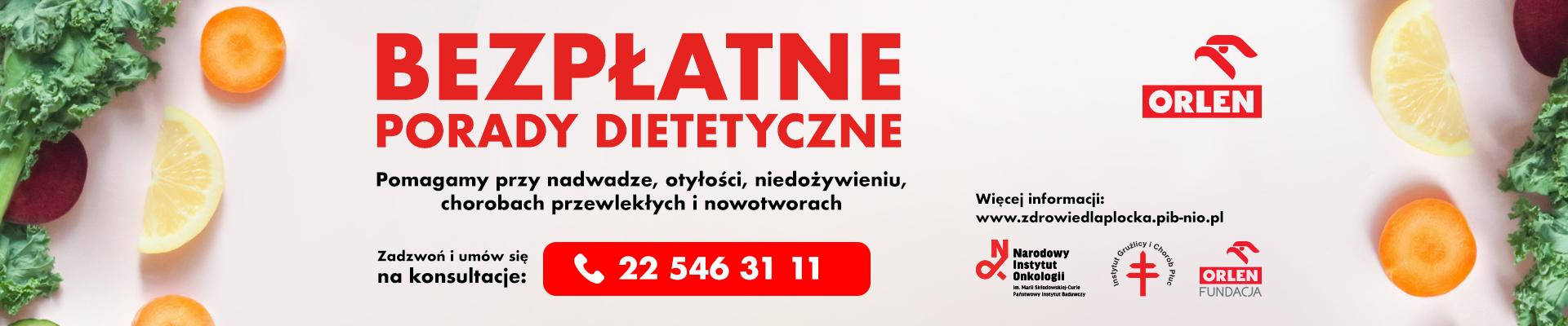 Bezpłatne porady dietetyczne